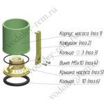 Резиновое буферное кольцо D10