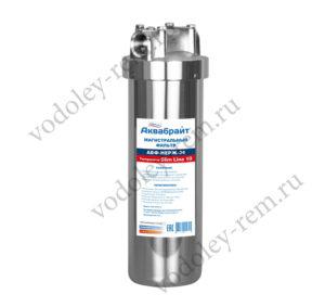Магистральный фильтр из нержавеющей стали Аквабрайт АБФ-НЕРЖ-34